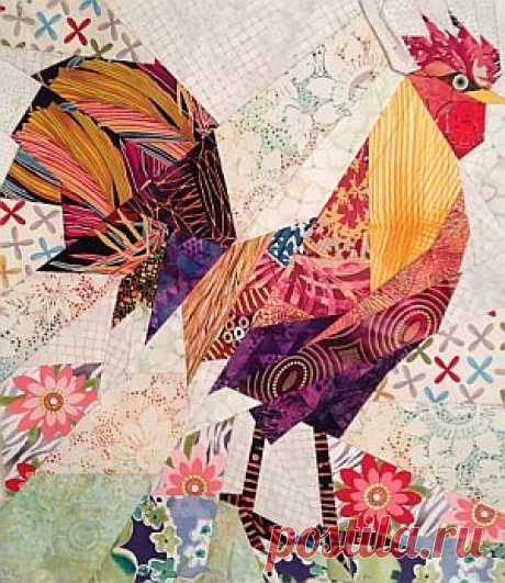 Rooster quilt | PATCHWORK PP