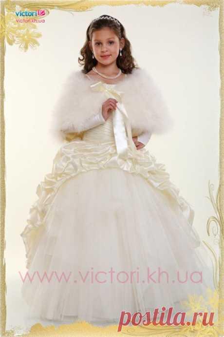 Купить детское платье D110 | интернет магазин Victori.kh.ua