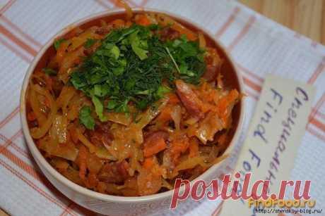 Бигус по-домашнему: пикантное горячее блюдо, которое греет душу!