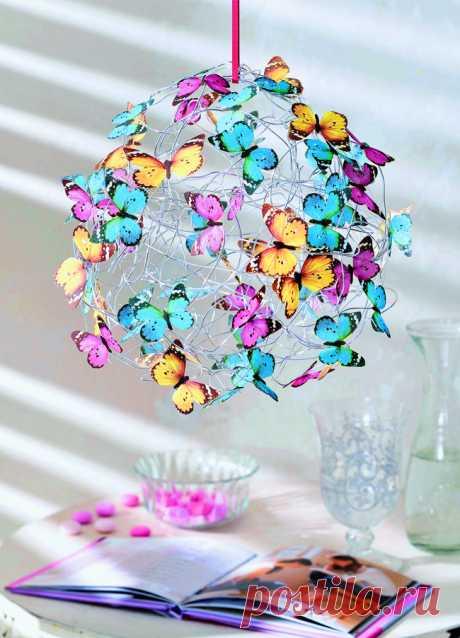 Бабочки из салфеток: оригинальный декор для дома своими руками — Мастер-классы на BurdaStyle.ru