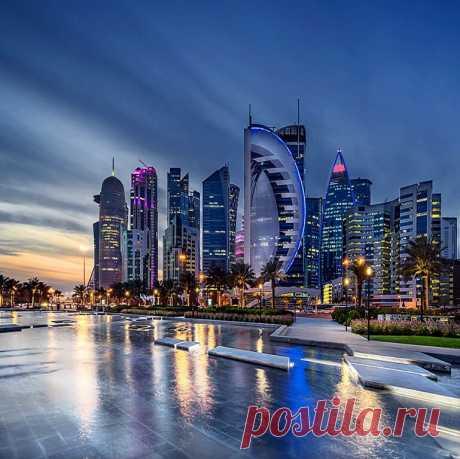 ༺🌸༻Доха. Катар.