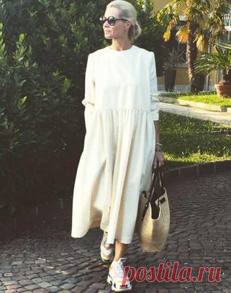 Летние платья для женщин за 50 лет: стильные и актуальные модели для модных образов