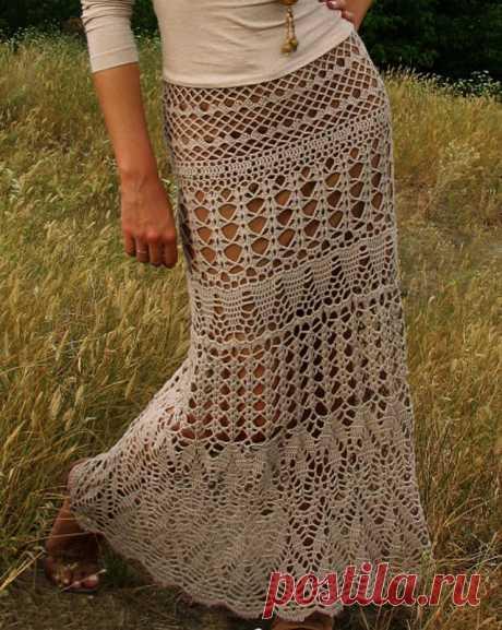 Вязаная юбка — юбка для смелых - Ярмарка Мастеров - ручная работа, handmade