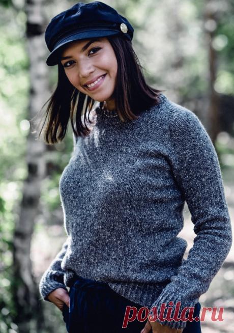Вязаный свитер VanillaHeirloom | ДОМОСЕДКА