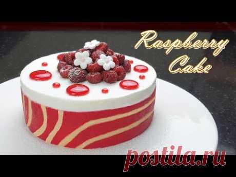 Рецепт малинового торта / Новый рецепт вкусных сливок