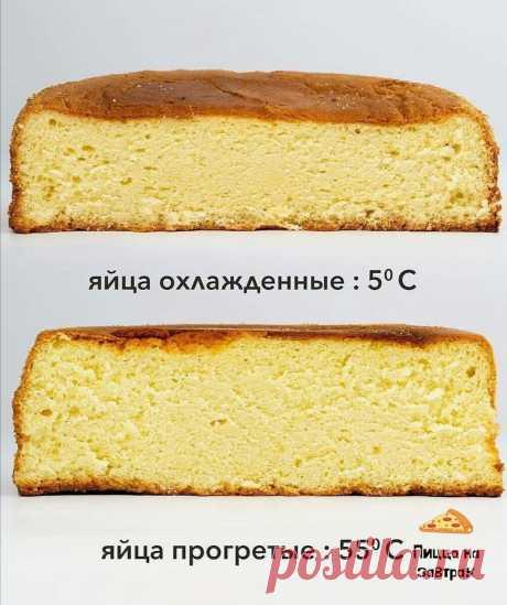 Вы этого НЕ ЗНАЛИ! 3 совета, как сделать бисквит, чтобы он не оседал | Пицца на завтрак | Яндекс Дзен