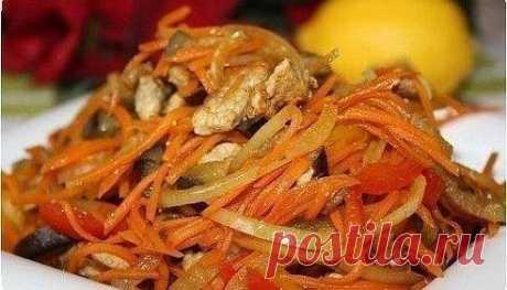 Салат из баклажанов с мясом и болгарским перцем / IPv2 - Глобальная информация