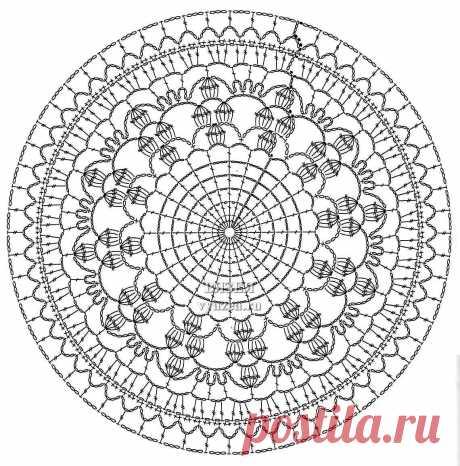 ажурные круги крючком: 10 тыс изображений найдено в Яндекс.Картинках