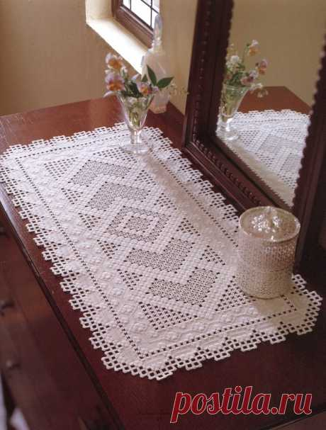 LET'S KNIT SERIES NV70524 - HARDANGER EMBROIDERY 2019