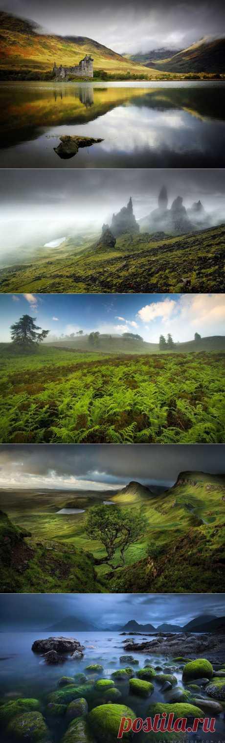 Сказочные пейзажи Шотландии   Непутевые заметки