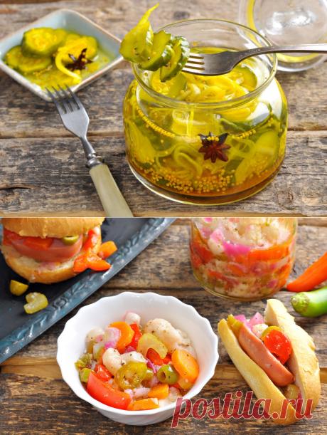 Модные рецепты засолки овощей и грибов на скорую руку
