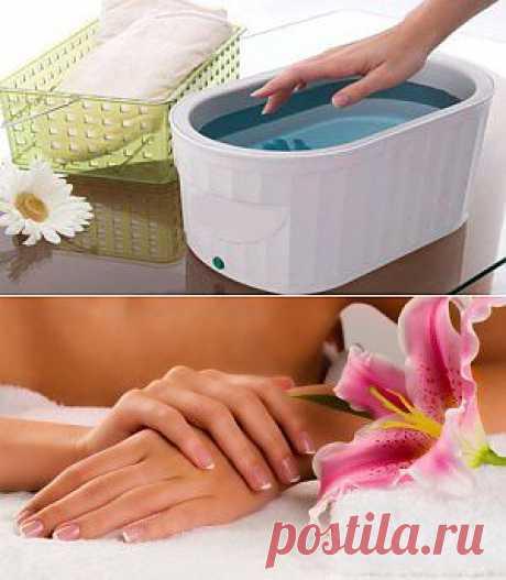 Парафинотерапия в домашних условиях |