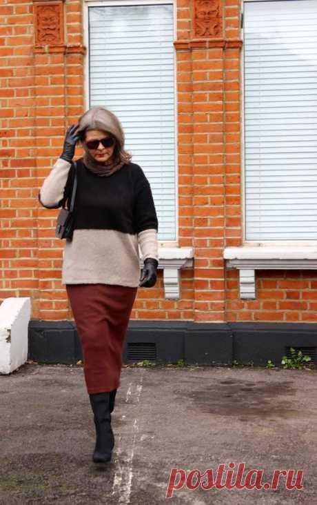 Дамы в возрасте: Street Style / Street Style / ВТОРАЯ УЛИЦА