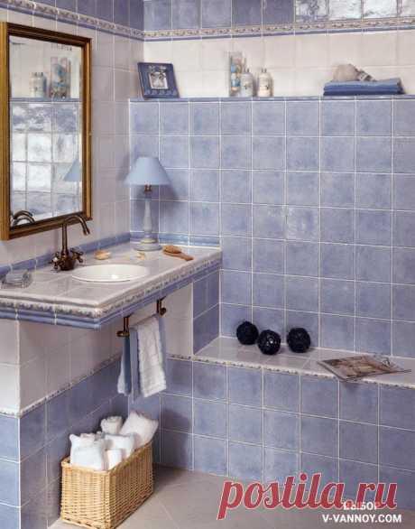 Плитка для ванной комнаты - 100 фото дизайна реальных интерьеров