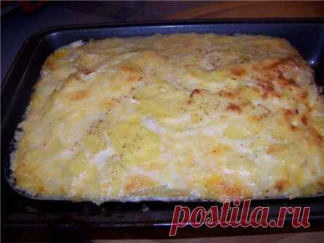 Картофельный гратен с мясным фаршем - рецепт с фото на Хлебопечка.ру