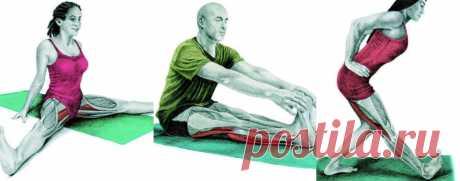 Растяжка ног: 10 эффективных упражнений для растяжки