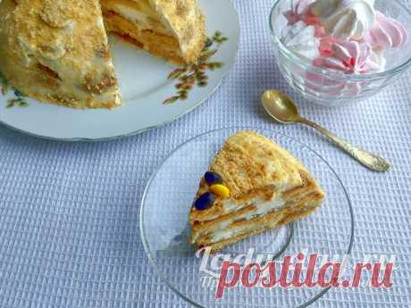 Торт за 10 минут без выпечки: всего из 3 ингредиентов   Простые рецепты с фото