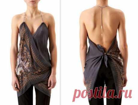 Топик / Платки / Модный сайт о стильной переделке одежды и интерьера
