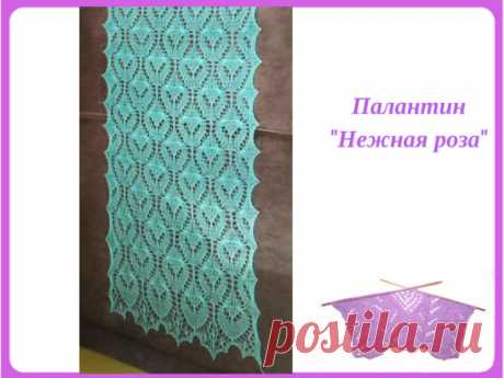 """Palatine \""""A gentle rose\"""".\u000aSchemes: http:\/\/www.stranamam.ru\/post\/9617435\/ (highlights on technology of execution on the page in comments)."""