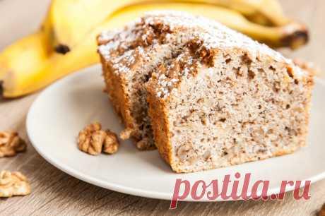 Банановый хлеб - пошаговый рецепт с фото - как приготовить, ингредиенты, состав, время приготовления - Леди Mail.Ru