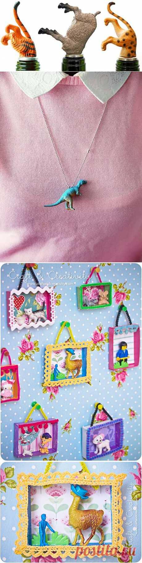 Коллекция идей применения мелких игрушек (2) / Детская комната / Модный сайт о стильной переделке одежды и интерьера