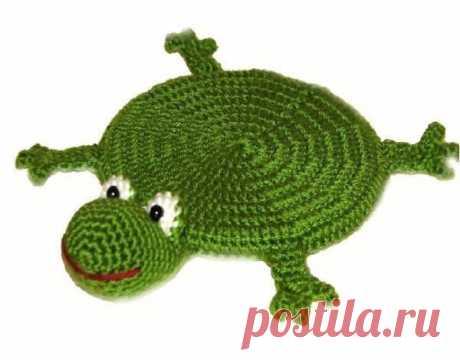 Подстаканник в виде лягушки! из категории Интересные идеи – Вязаные идеи, идеи для вязания