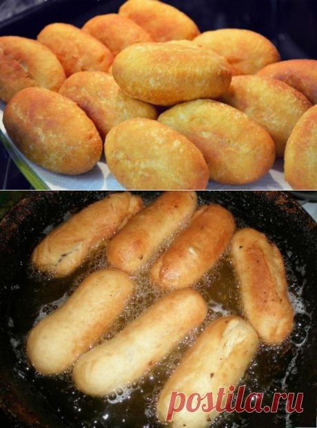 Изумительное тесто для жареных пирожков или беляшей. Минимум ингредиентов! - be1issimo.ru