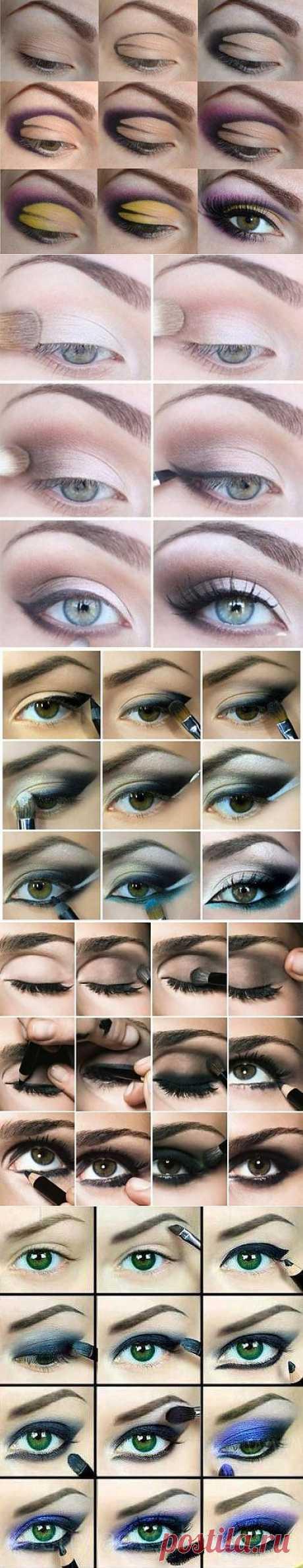 5 эффектных вариантов макияжа для новогодней ночи