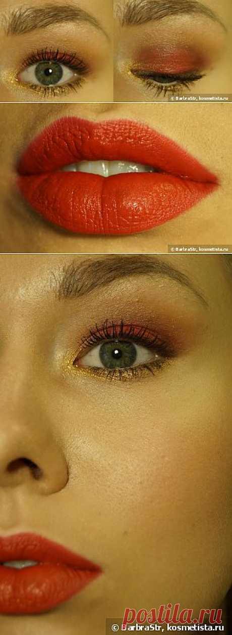 Allure Inspired Make-up. My version — Отзывы о косметике — Косметиста