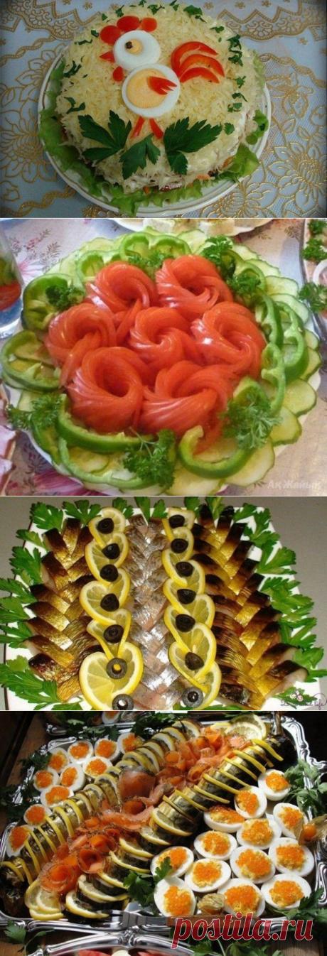 23 шикарных идеи для украшения блюда на Новый год - Круто 7 дней в неделю!