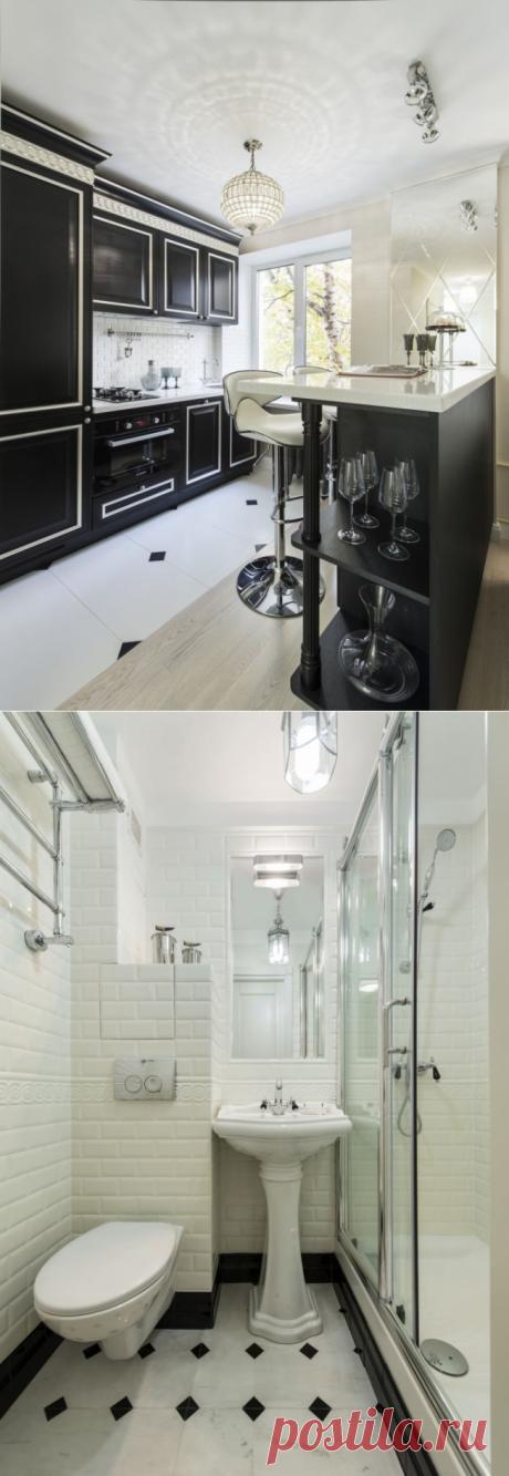Арт-деко в интерьере однокомнатной квартиры 29 кв - Дизайн интерьеров | Идеи вашего дома | Lodgers