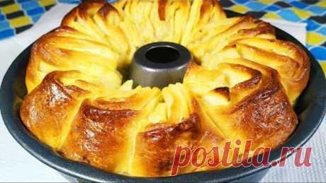 Никогда бы не подумала что ЭТО ТАК ВКУСНО! Яблочный пирог вкуснее шарлотки.