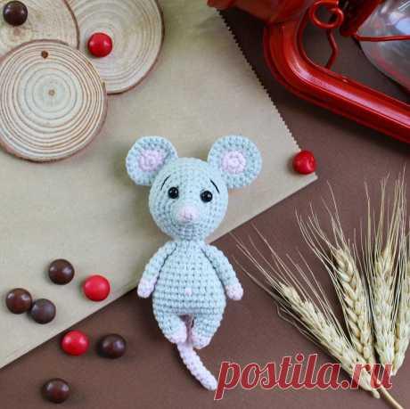 Мышка малышка крючком амигуруми | AmiguRoom