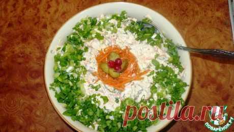 """Салат """"Лисичка"""" Кулинарный рецепт"""