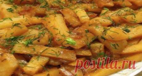 """Las patatas sabrosas en la multicocción sobre el régimen \""""la Cocción\"""": el acceso Creativo a la cena - el jefe Fenomenal"""