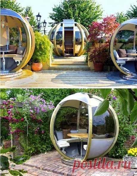 G-Pod – сферические дома-беседки для современных кочевников | Экологичные штучки