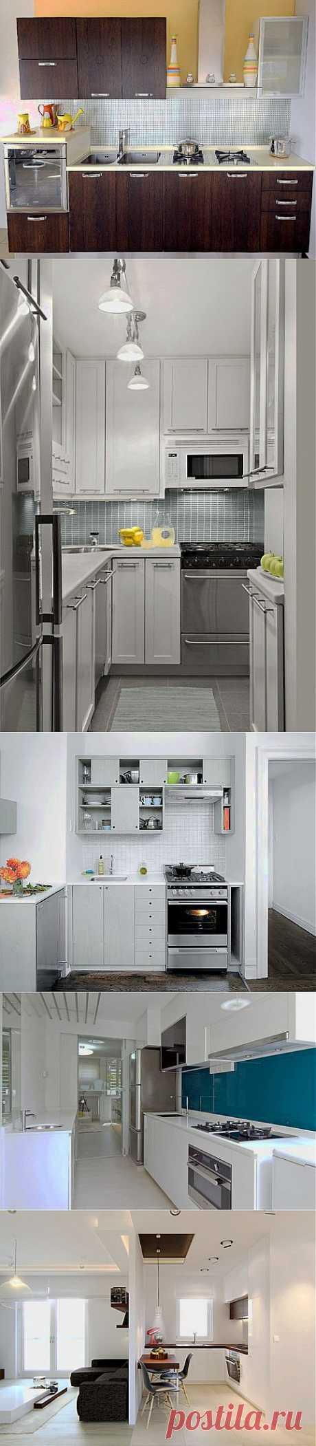 (+1) тема - Удобный дизайн кухни 6 кв. м | МОЙ ДОМ