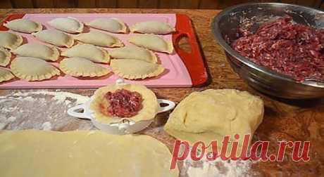 Универсальное заварное тесто на кипятке для пельменей, вареников и чебуреков. Супер!!!