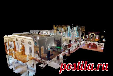 Посетите музей, как никогда раньше!   Fundació Gala - Сальвадор Дали