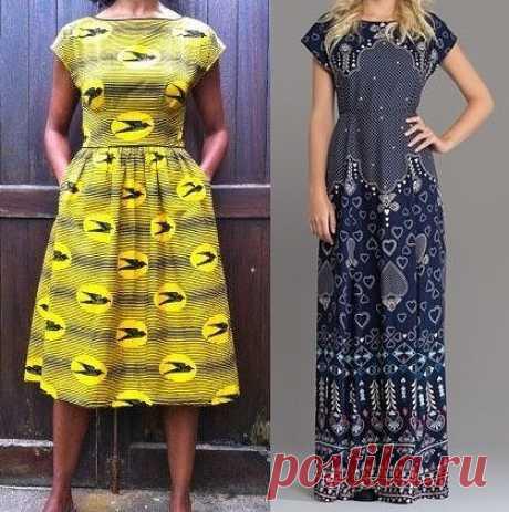 Выкройка летнего платья (Шитье и крой) – Журнал Вдохновение Рукодельницы
