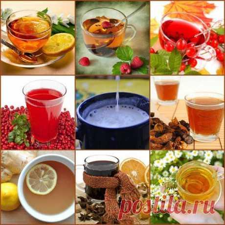 9 чудо-напитков от простуд