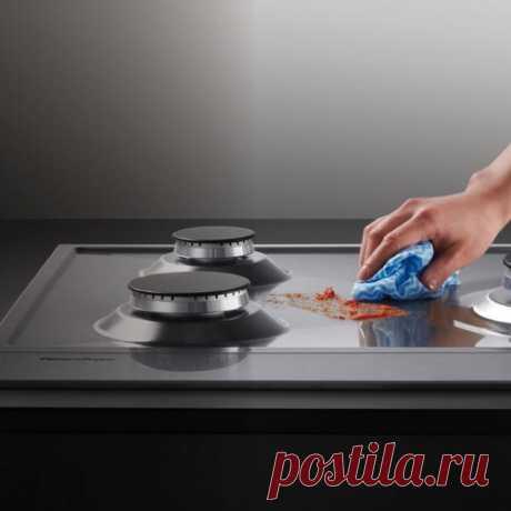 Как без усилий вычистить плиту