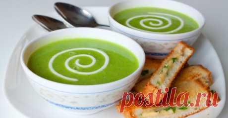 Оригинальный рецепт крем-супа из зеленого горошка | I Love Hobby - Лучшие мастер-классы со всего мира!