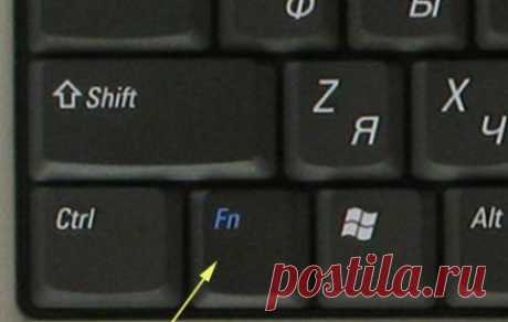 Клавиша Fn на ноутбуке — секретная кнопка