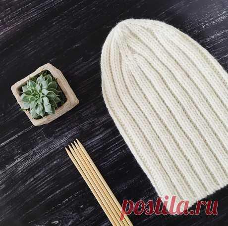Как быстро связать шапку бини спицами, Вязание для женщин