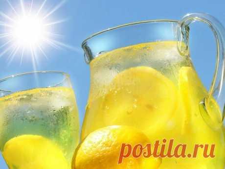Готовим вкусный домашний лимонад   Вкусные рецепты