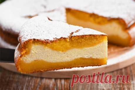 Готовлю очень нежный заливной пирог! Тесто из тыквы, начинка из творога (рецепт с фото) | Совет да Еда | Яндекс Дзен