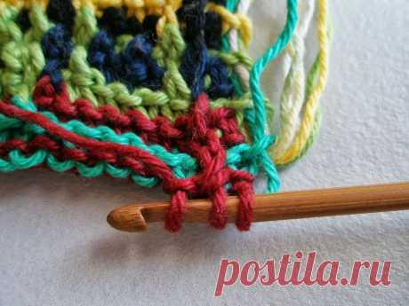 🧶3 очень интересных техники вязания | Сундучок с подарками | Яндекс Дзен