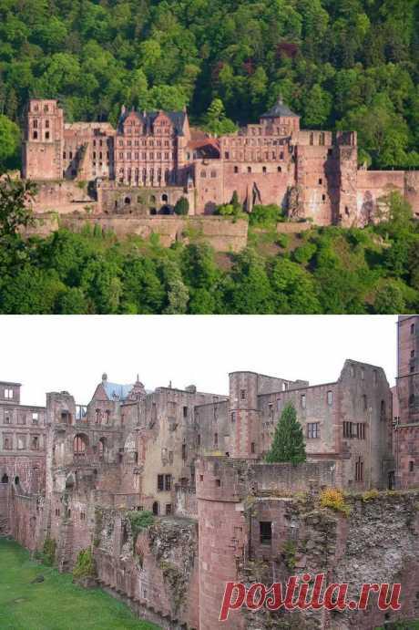 Гейдельбергский замок: немеркнущая в веках слава (Германия).