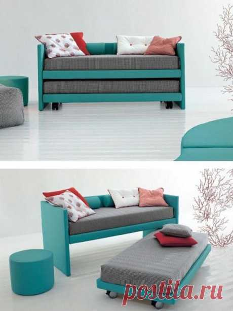 Раскладной диван Модная одежда и дизайн интерьера своими руками